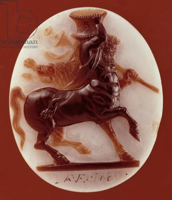 Kamea z wizerunkiem centaura