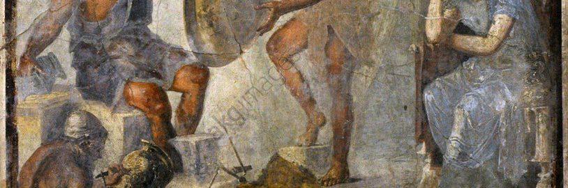 Tethys on a Pompeian fresco
