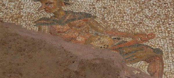 Roman erotic mosaic discovered in Turkey