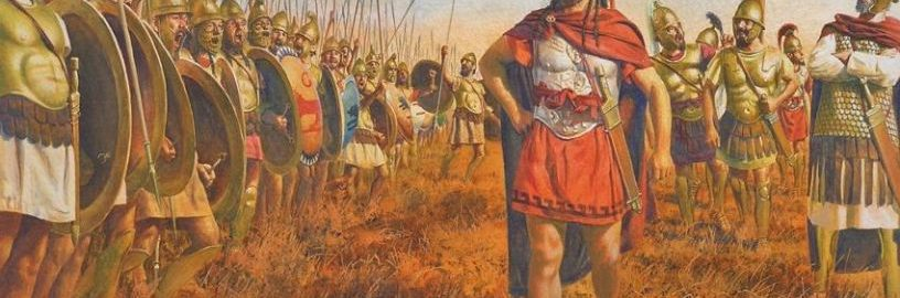Carthaginian commander at the head of the army
