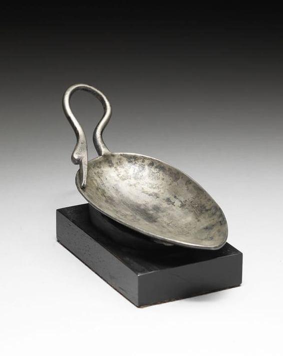 Rzymska srebrna łyżka