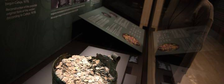 Odkrycie wielkiego rzymskiego skarbu z 1937 roku w Hiszpanii