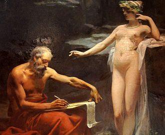 Ulpiano Checa, Nimfa Egeria dyktująca Numie prawa Rzymu