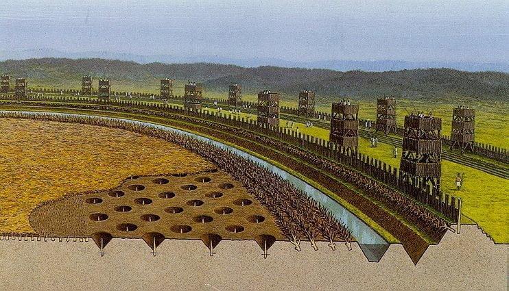 Fortyfikacje rzymskie - rekonstrukcja