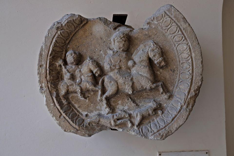 Rzymski relief ukazujący polowanie