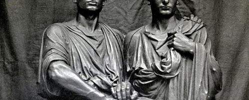 Famous siblings: Tiberius (on the right) and Gajus Gracchus