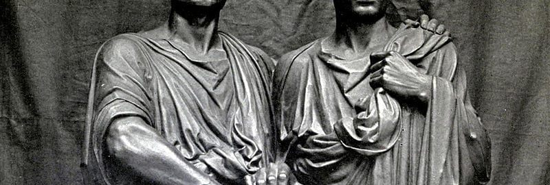 Famous siblings: Tiberius (on the right) and Gaius Gracchus