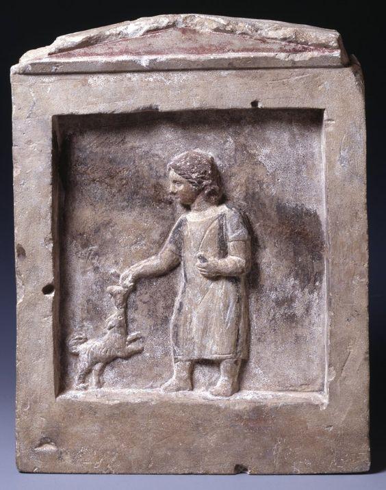 Rzymska stela wapienna