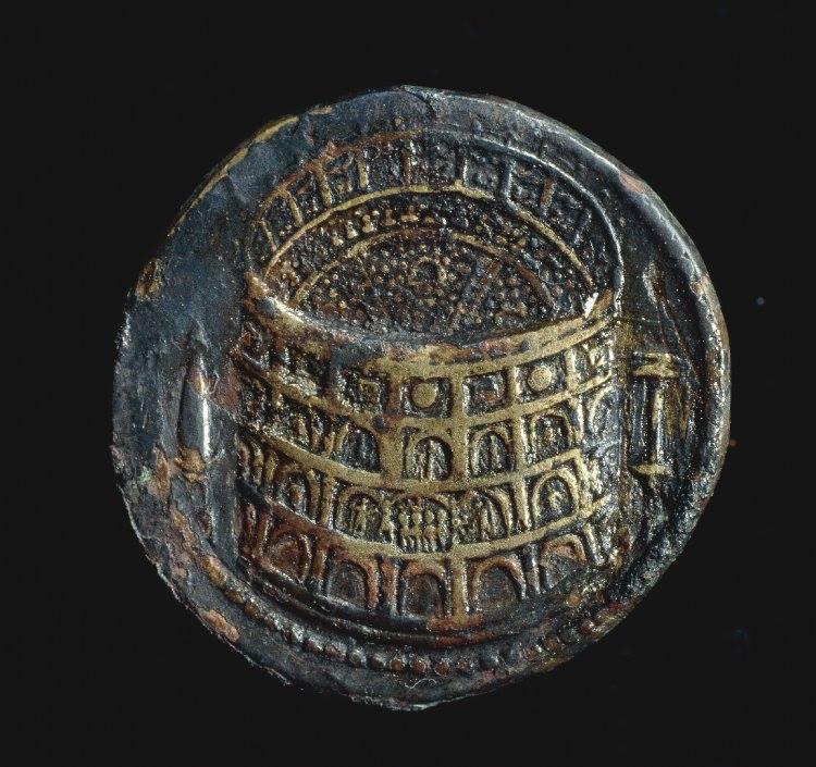 Amfiteatr Flawiuszów na monecie rzymskiej