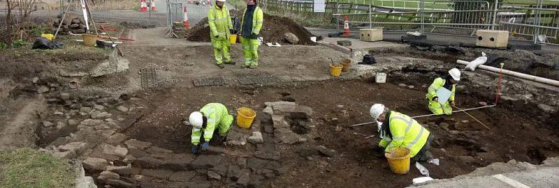 Pod drogą odnaleziono ślady po rzymskim ośrodku miejskim