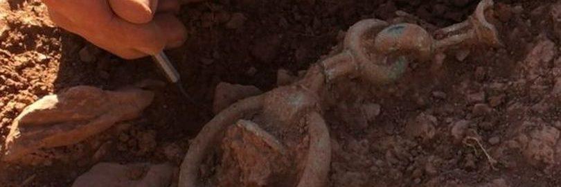 Odkryto fragmenty celtyckiego rydwanu