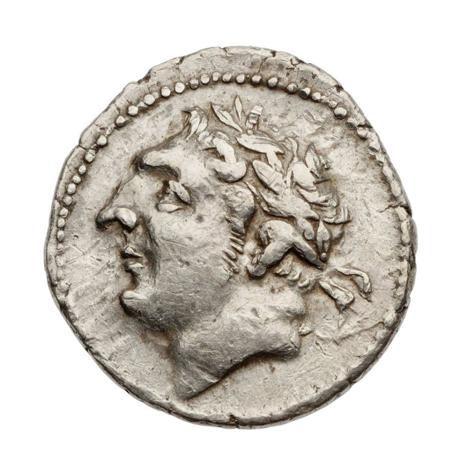 Moneta Jugurty - króla Numidii