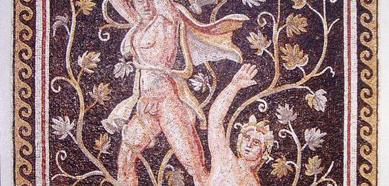 Likurg i Ambrozja na mozaice