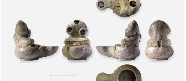 Odkryto lampę w rzymskiej willi w Anglii