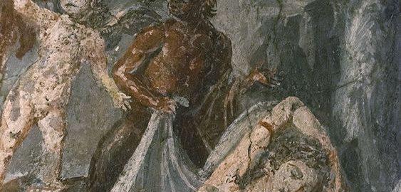 Bacchus finding Ariadne