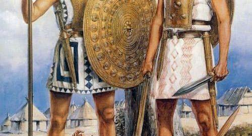 Rzymscy żołnierze walczyli w czasach wczesniej Republiki jako hoplici