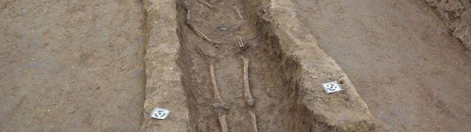 A skeleton from Viminacium
