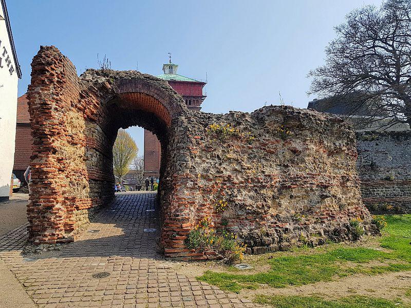 Ruiny Balkerne Gate w Colchester