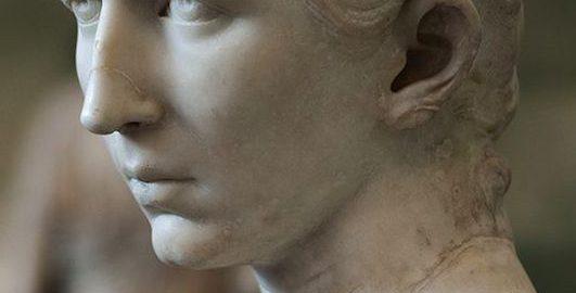 A bust of Cornelia Salonina