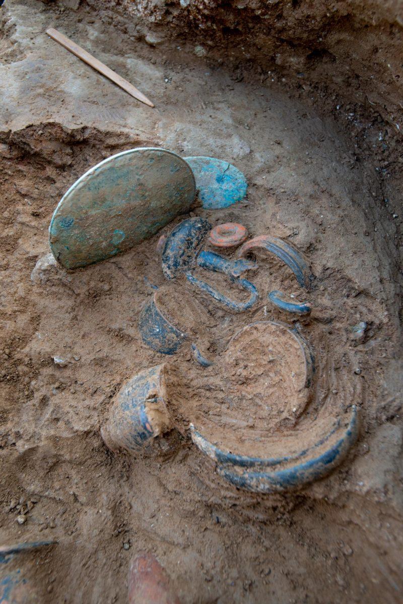 Odkryto etruski grób na Korsyce
