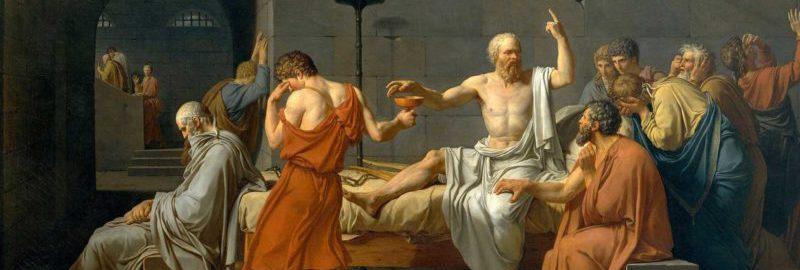 Śmierć Sokratesa, Jacques-Louis David