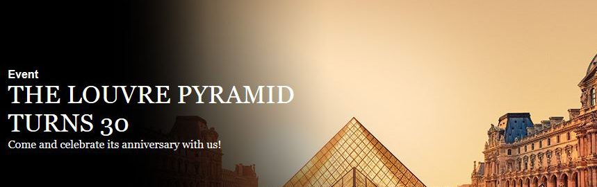 Louvre Museum - 30 years since the creation of the famous glass pyramid