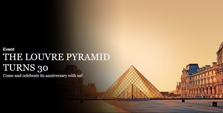 Muzeum w Luwrze - 30 lat od powstania słynnej szklanej piramidy