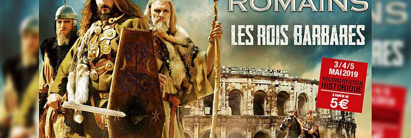Once again the Grand Roman Games in Nimes