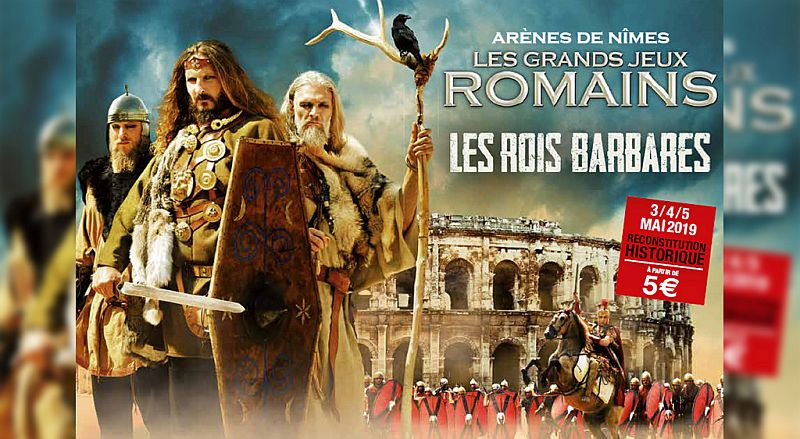 Once again, Great Roman Games in Nimes