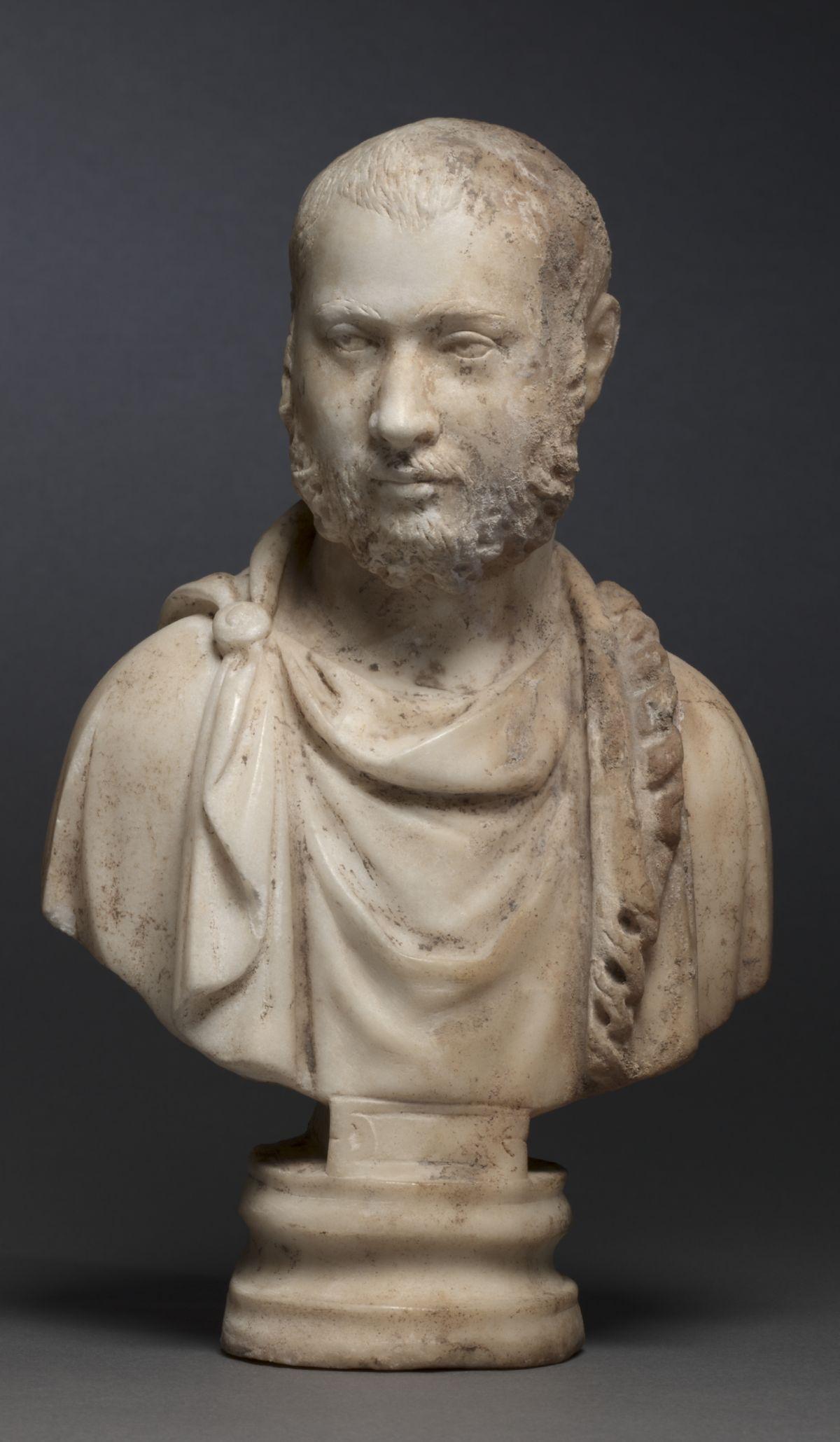 Popiersie arystokraty rzymskiego