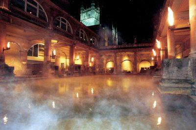 W słynnych termach w Bath odkryto zapomniane termy