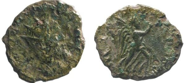 Roman coin of usurper Laelianus discovered