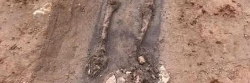 22 Roman skeletons were discovered in England