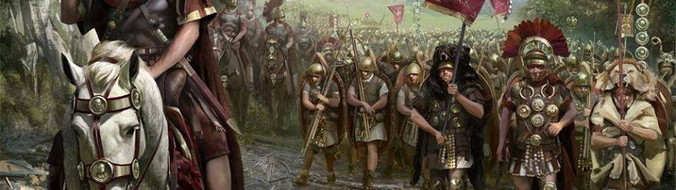 March of Caesar and the troops