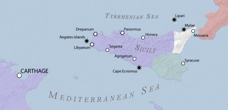 Sycylia w czasie I wojny punickiej