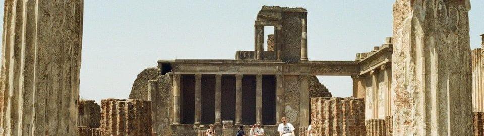 Bazylika w Pompejach, datowana na II wiek p.n.e.