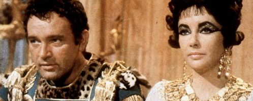 Antoniusz i Kleopatra - scena filmowa