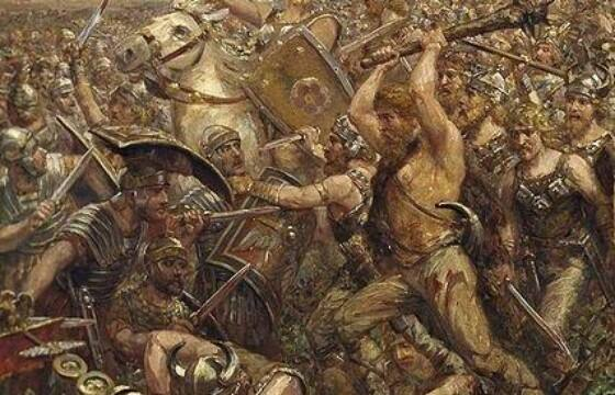 """""""Bitwa na bagnach"""" z 235 r. n.e. Czy zemsta Rzymian na Germanach za klęskę w Lesie Teutoburskim z 9 r. n.e. została dowiedziona?"""