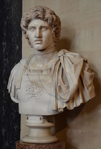 Roman bust of Alexander the Great