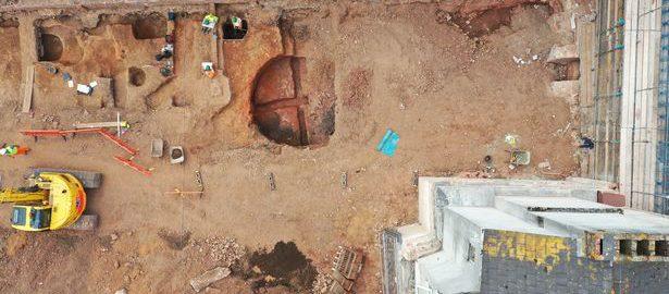 Niesamowite odkrycie rzymskie w Exeter