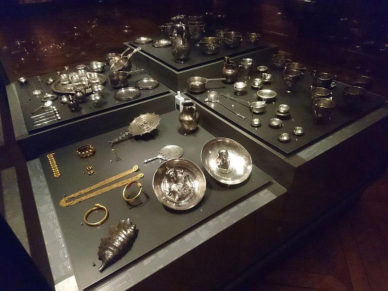 Objects found in Boscoreale