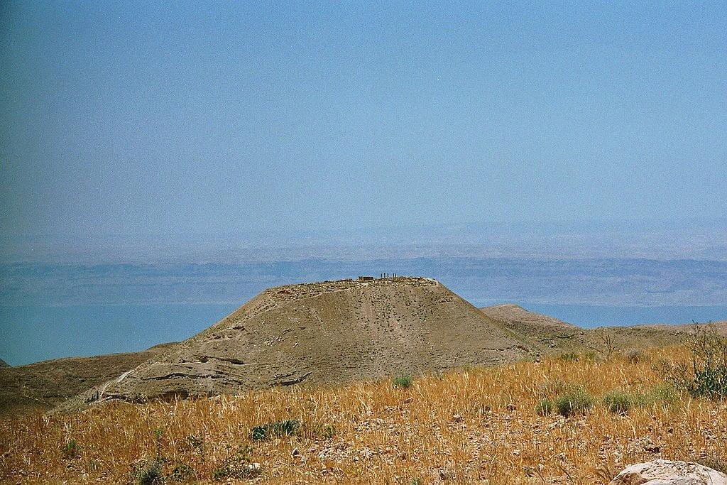 Twierdza Macheront widziana od wschodu