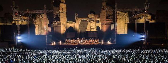 Festiwal letniej opery w Termach Karakalli