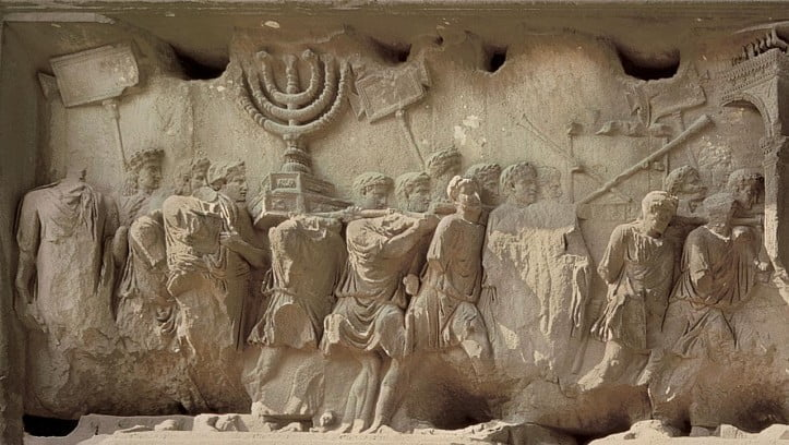 Relief z Łuku Tytusa w Rzymie