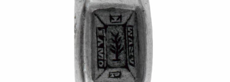A Roman ring given on the occasion of a wedding, engraved with the words:  Te amo parum