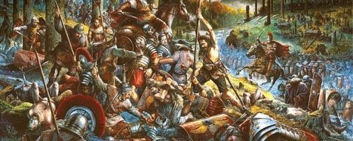 Battle in the Teutoburg Forest