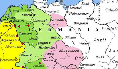 Germania w 9 roku n.e.