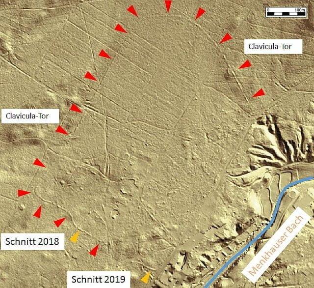 Odkryto rzymski obóz w Niemczech