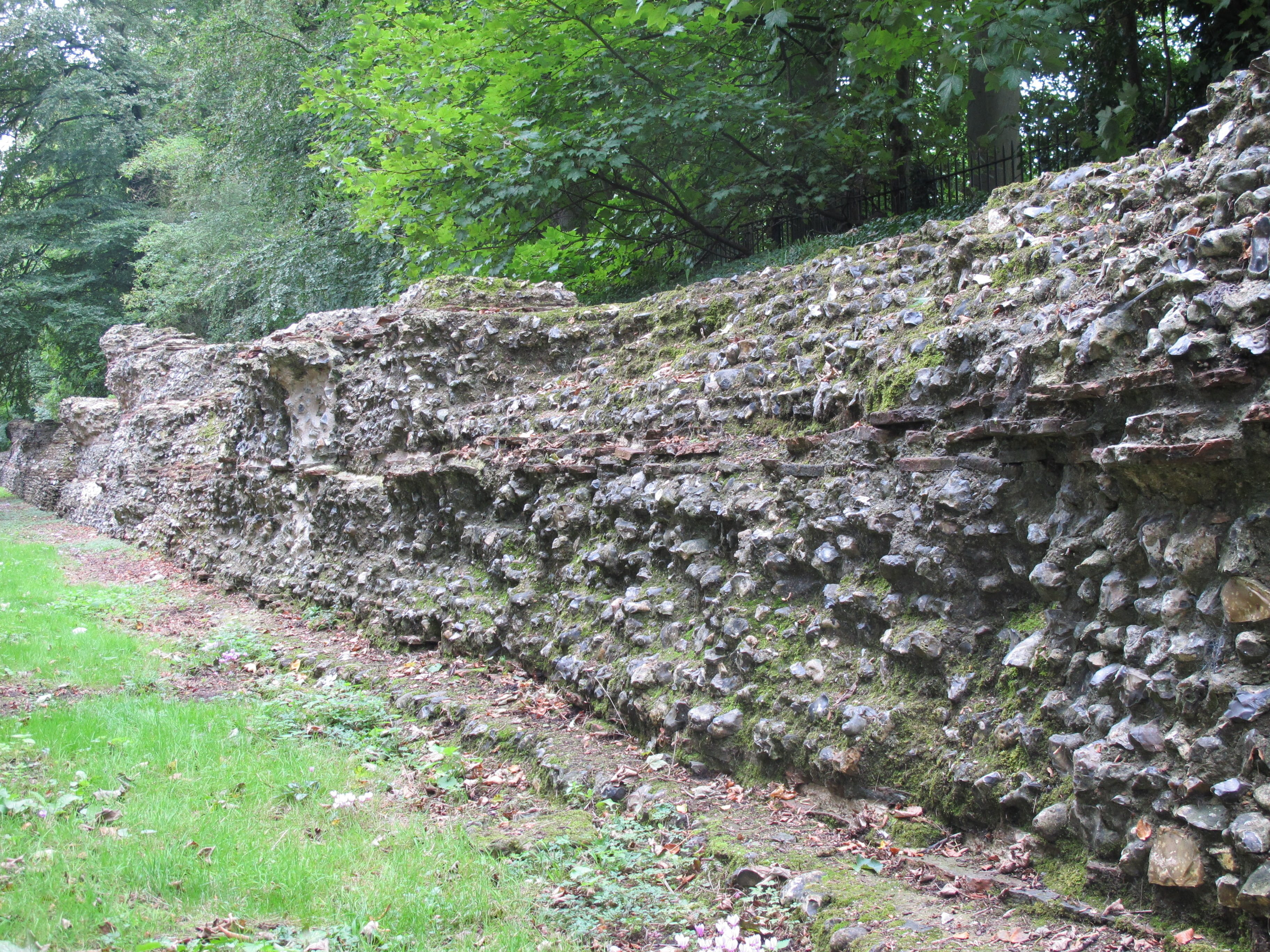 Mury obronne w Verulamium