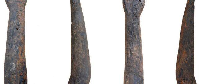"""W Brytanii odkryto drewniane """"ramię"""""""